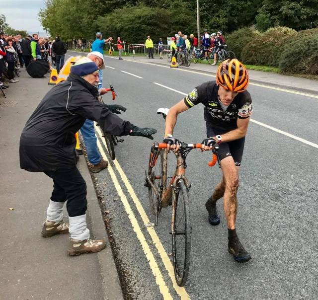 Three Peaks bike change